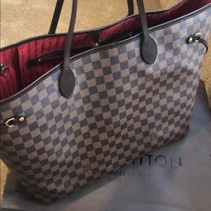 COPY - Authentic LV Large/GM Neverfull Tote